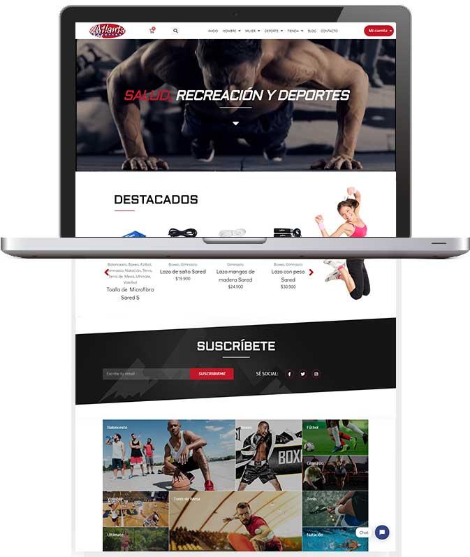 Tu Marketing Bogotá - Atlanta Deportes Portfolio